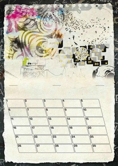 20 Cool Custom Calendar Printing Examples Uprinting