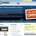 10 Places for Premium WordPress Themes