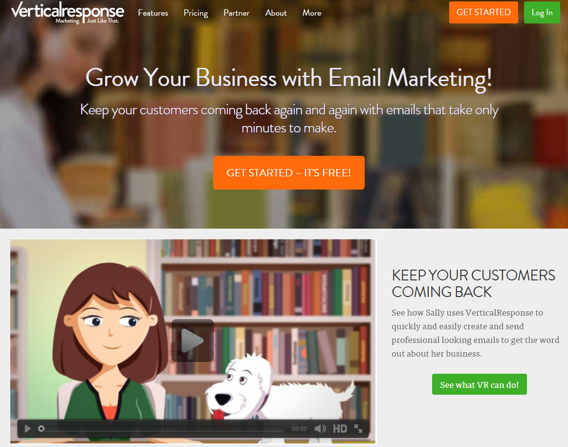20 business email marketing software solutions uprinting for Vertical response