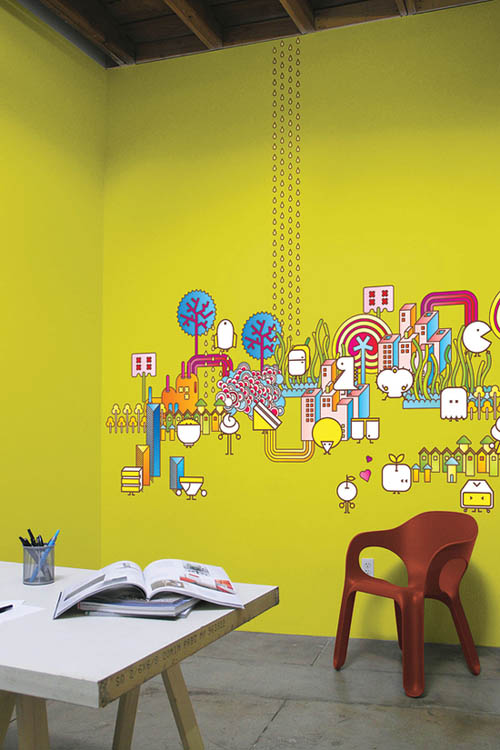 12 Wonderful Wall Graphic Designs | UPrinting
