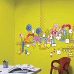 12 Wonderful Wall Graphic Designs
