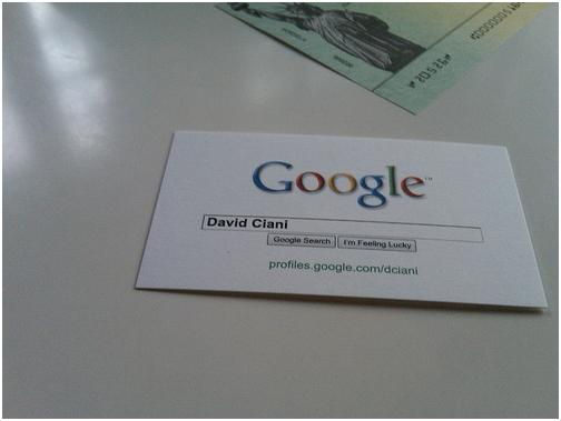 Personal business card ideas for the social media era for Personal business cards examples