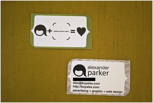 Some Personal Business Card Ideas And Examples