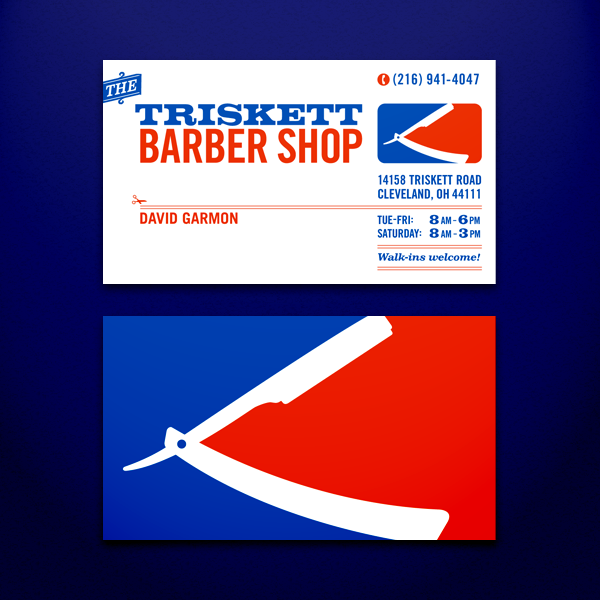 Outstanding Barber Shop Logos Business Cards 600 x 600 · 192 kB · png