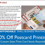 Low-Cost Printing News:  New Postal Incentive for Bulk Mail Senders