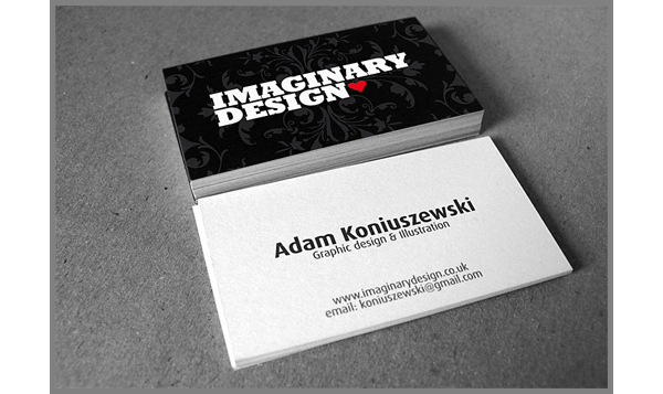 Print Your Own Unique Business Card Design With Uprinting Added Our Custom Size And Cutting Options You Too Can Create Dark Cards