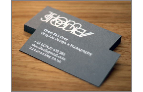 14 business card designs in dark colors uprinting for Uprinting business cards