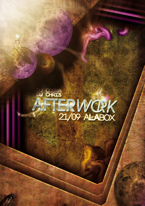 Night Club Flyer - After Work: Box Nightclub