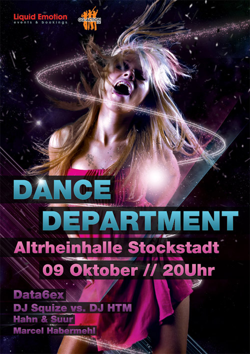 Night Club Flyer - Dance Department Party Community