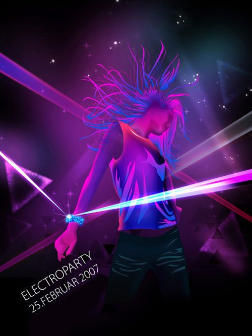 Night Club Flyer – Electroparty