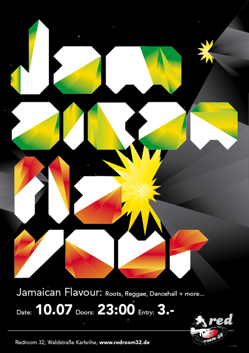 Night Club Flyer – Jamaican Flavour