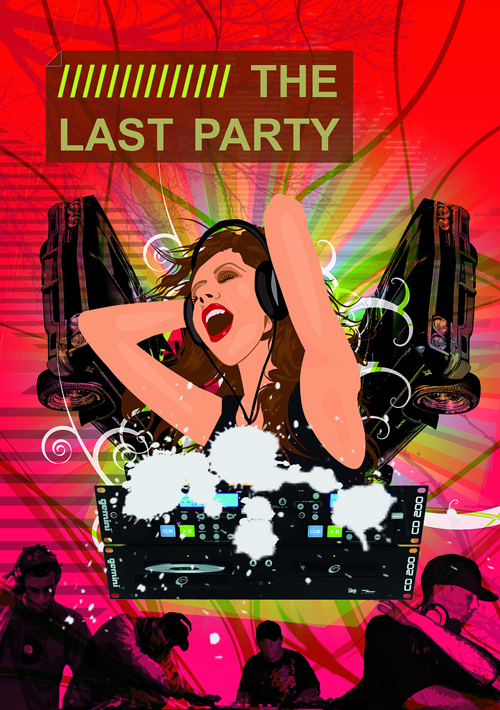 Night Club Flyer – The Last Party