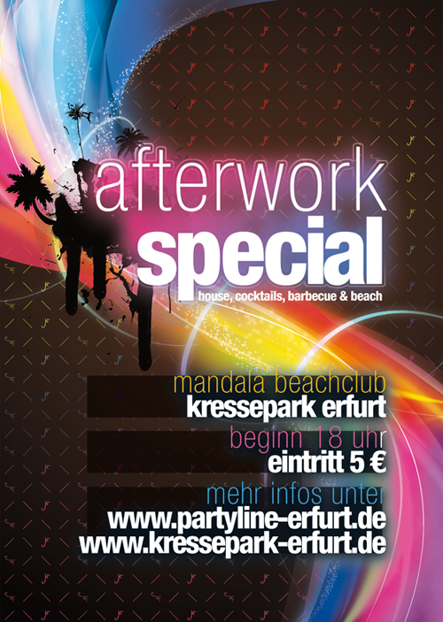 Night Club Flyer – Afterwork Special