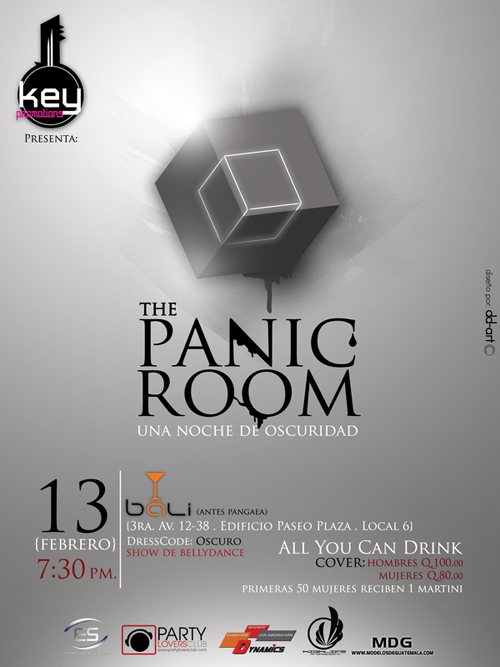 Night Club Flyer – The Panic Room