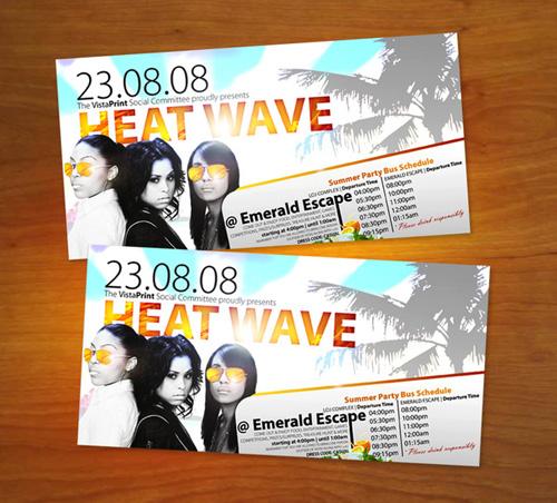 Night Club Flyer - Heatwave
