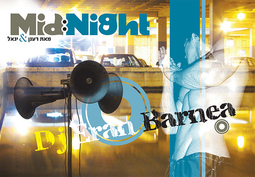 Night Club Flyer – Mid Night