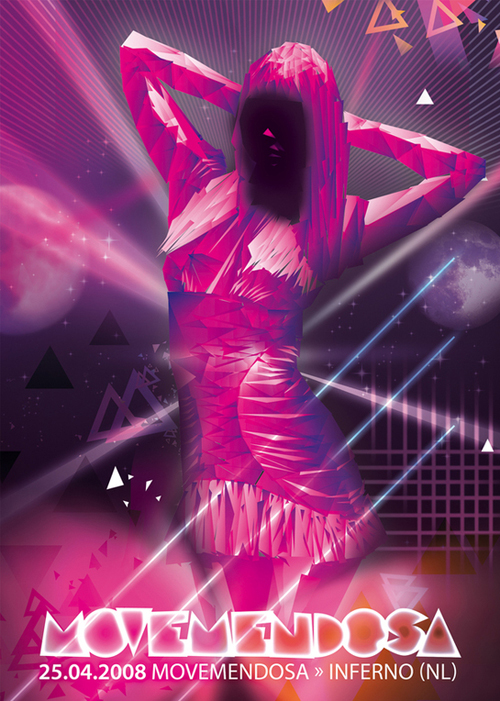 Night Club Flyer - Movemendoza