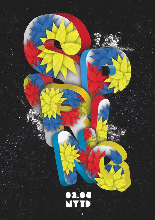 Night Club Flyer - Spring