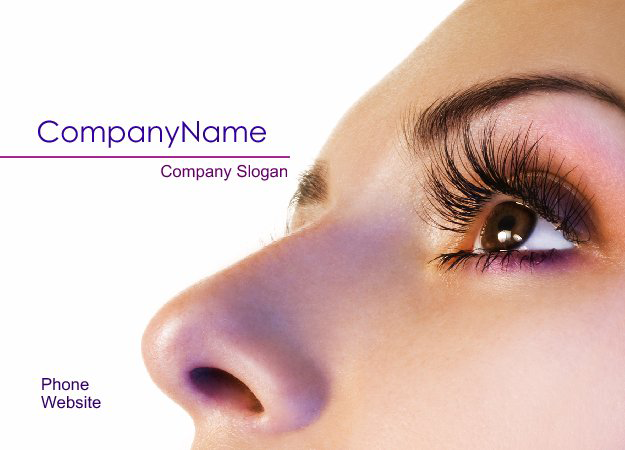 Custom Postcard Design for Cosmetics Services 9