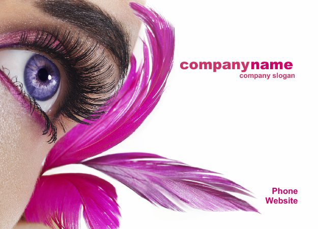 Custom Postcard Design for Cosmetics Services 7