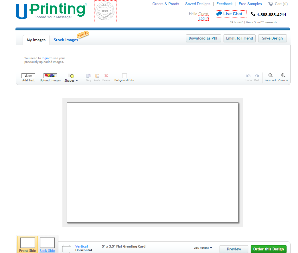 Make Holiday Greeting Cards Online At Uprinting Uprinting