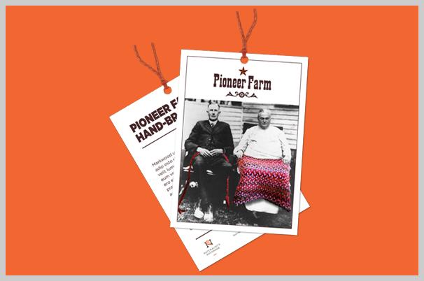 Custom Printed Hang Tags - Pioneer Farm
