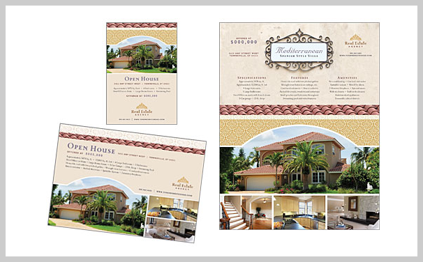 Real Estate Flyer Design Example