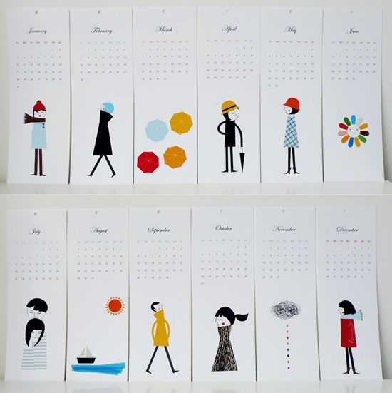 Unusual Calendar Ideas : Creative and unique calendar designs uprinting