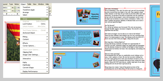 Brochure Design with InDesign