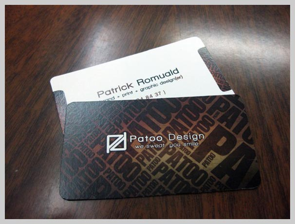 Brown Business Cards - Patoo