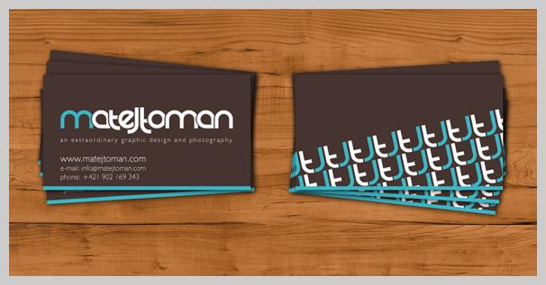Brown Business Cards - Matej Toman