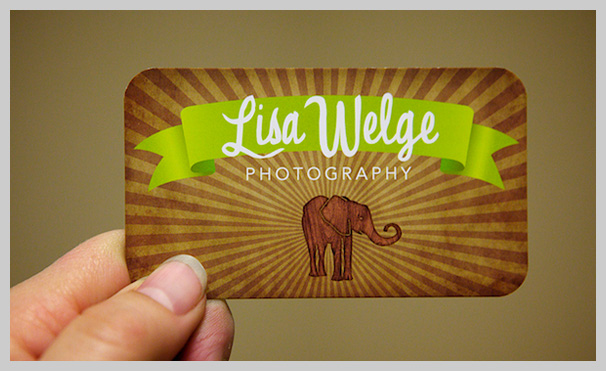Brown Business Cards - Lisa Welge