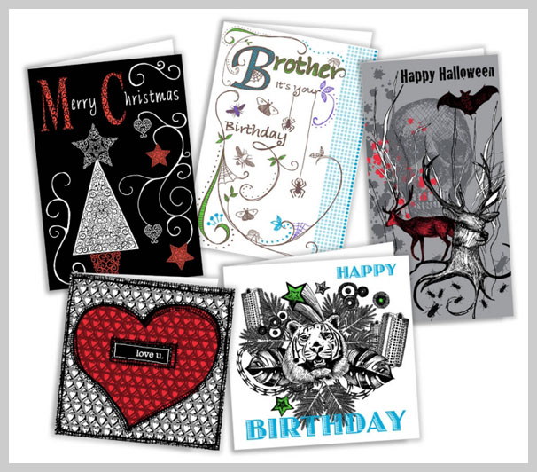 Custom Greeting Card Printing - Holiday Cards