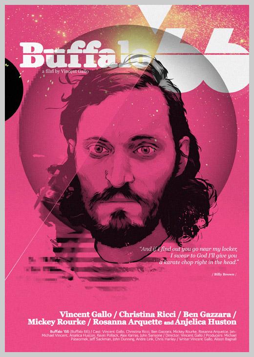 Custom Movie Poster Designs - Buffalo 66