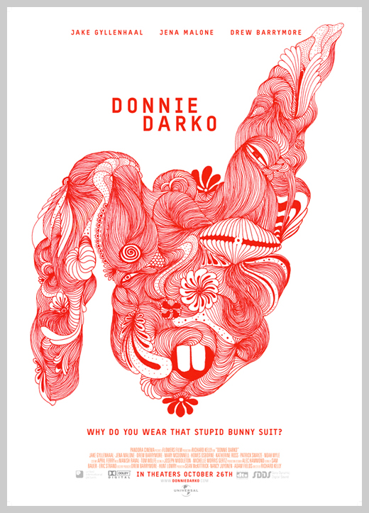 Custom Movie Poster Designs - Donnie Darko