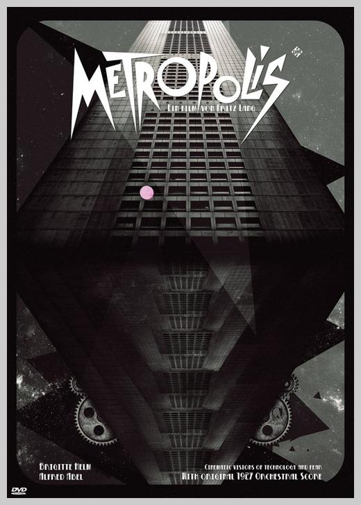 Custom Movie Poster Designs - Metropolis