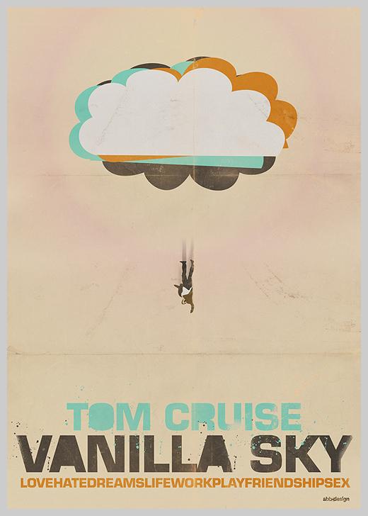 Custom Movie Poster Designs - Vanilla Sky