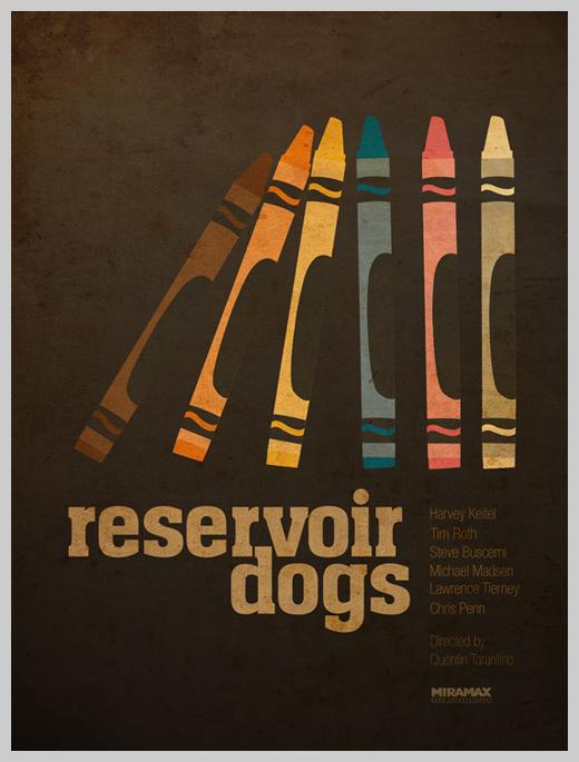 Custom Movie Poster Designs - Reservoir Dogs