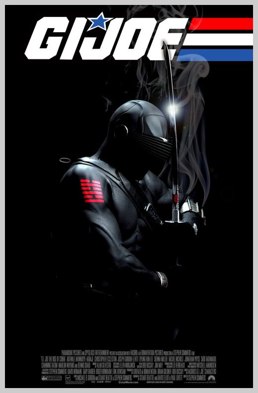 Custom Movie Poster Designs - G.I. Joe