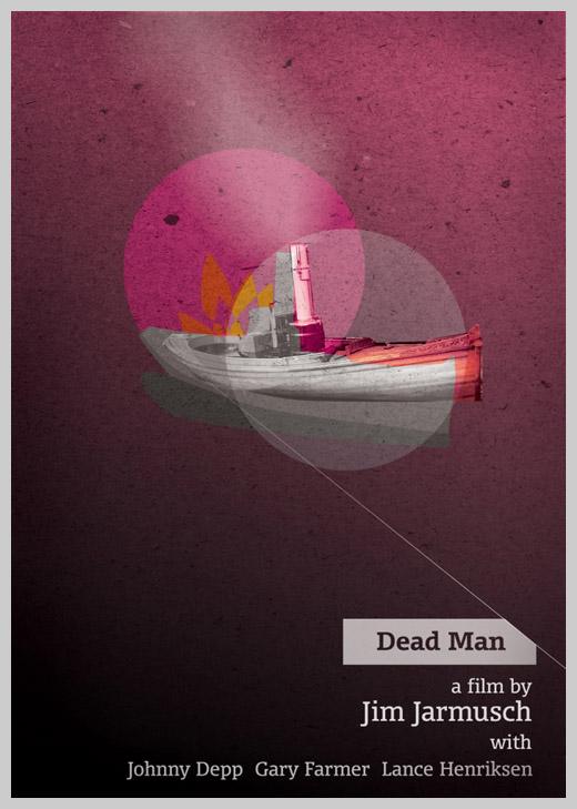 Custom Movie Poster Designs - Dead Man
