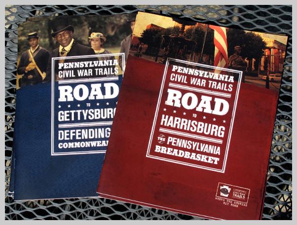 Travel Brochure Examples - Gettysburg, Harrisburg