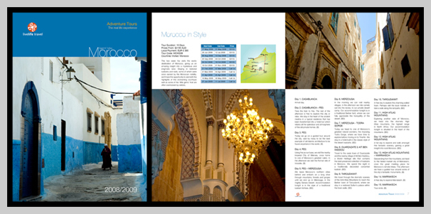 Travel Brochure Examples - Morocco