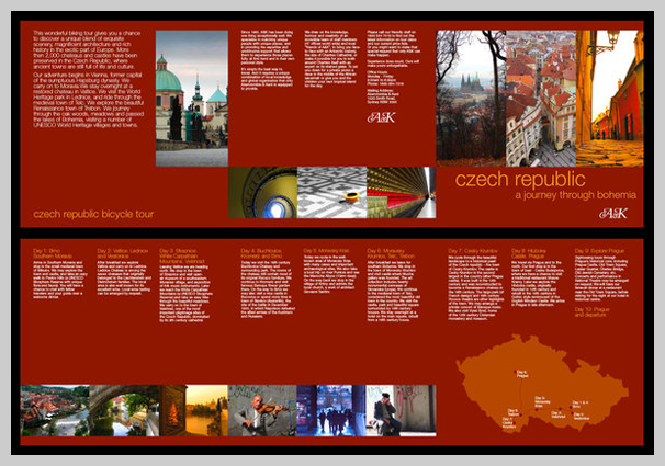 City Travel Brochure Examples For Design Inspiration  Uprinting