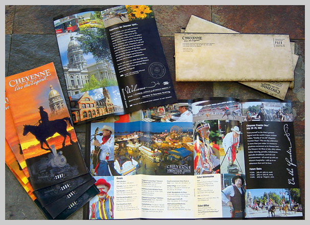 Travel Brochure Examples - Cheyenne