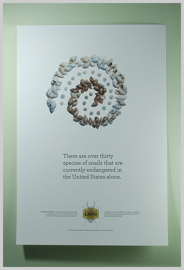 Environmental Awareness Posters - It's Not Our Earth