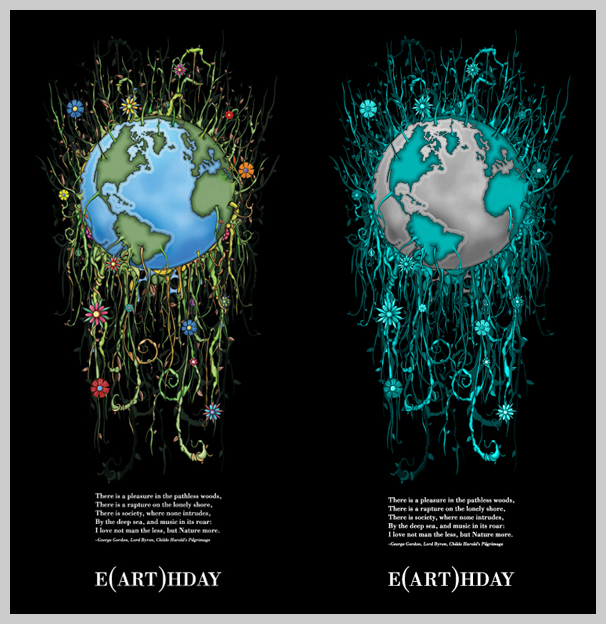 environmental awareness posters e art hday