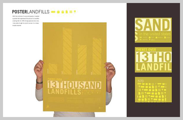 environmental awareness posters oneworld landfills
