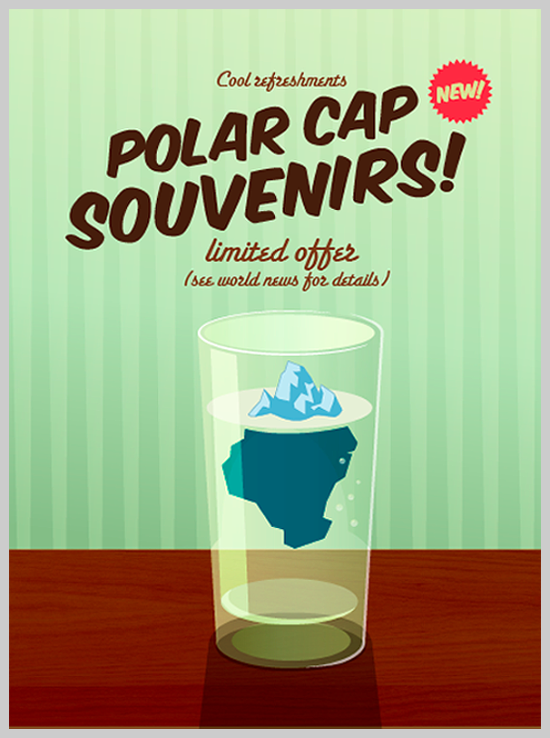 Environmental Awareness Posters - Polar Cap Souvenirs