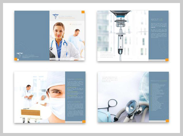 Medical Brochure Design - Global Pharma