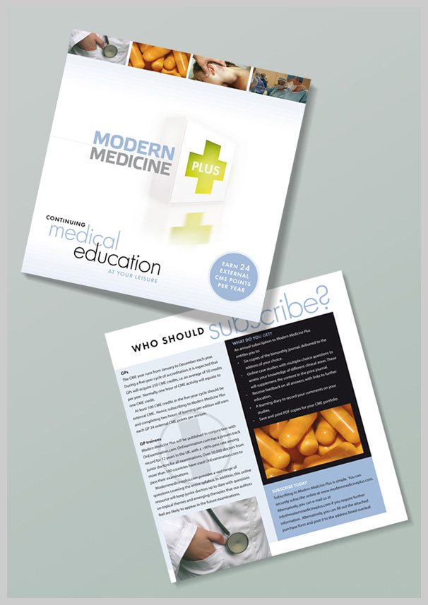 Medical Brochure Design - Modern Medicine Plus